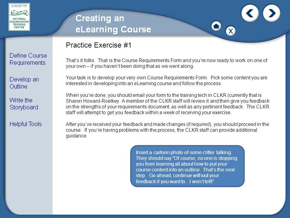 Practice Exercise #1