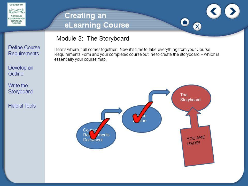 Module 3: The Storyboard