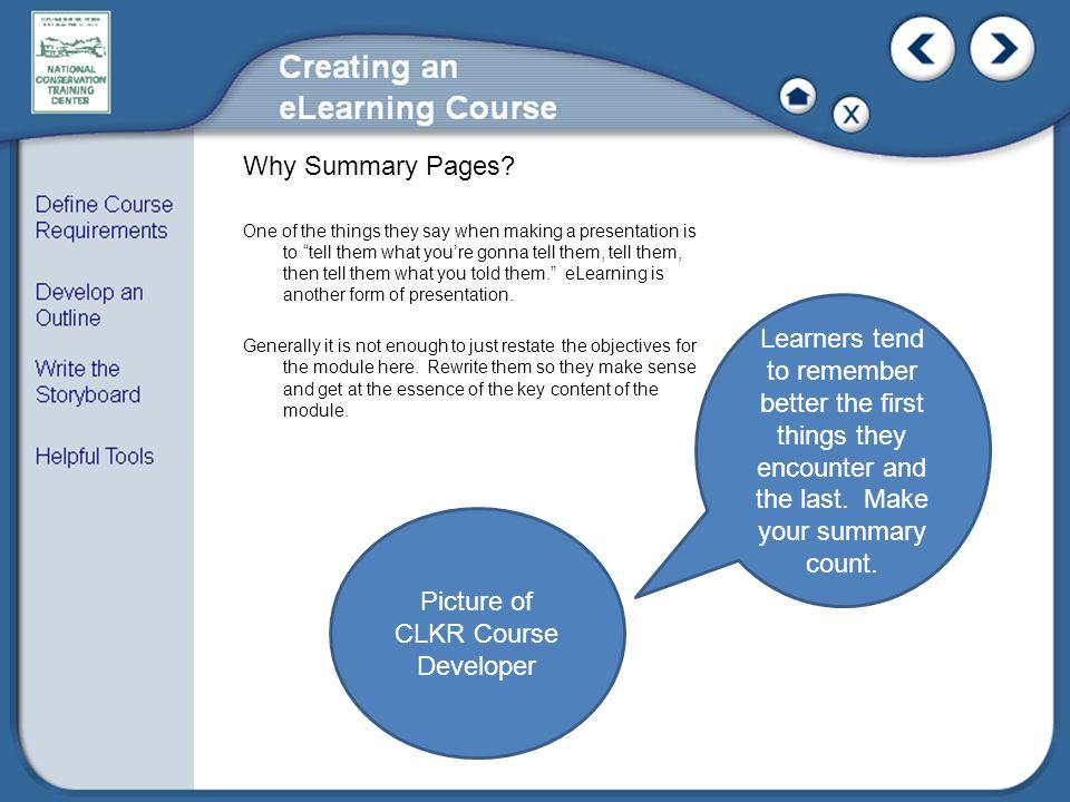Picture of CLKR Course Developer