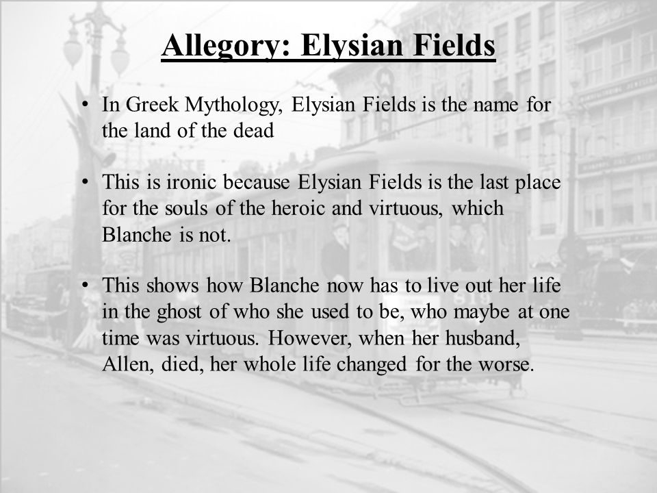 Allegory: Elysian Fields