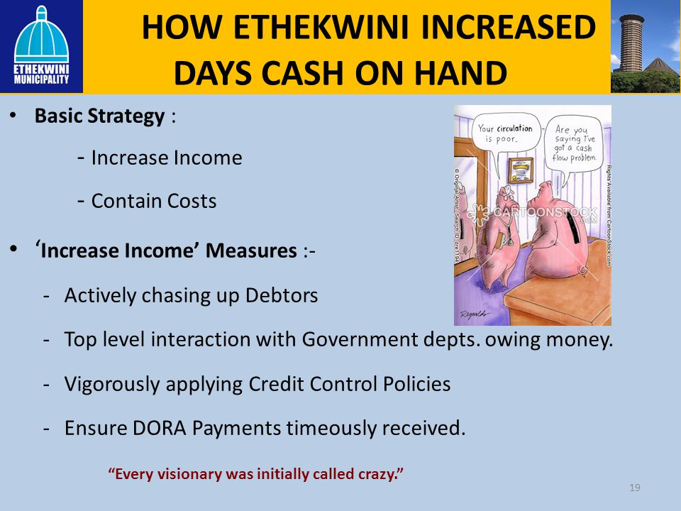 HOW ETHEKWINI INCREASED DAYS CASH ON HAND