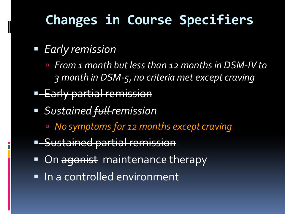 Changes in Course Specifiers