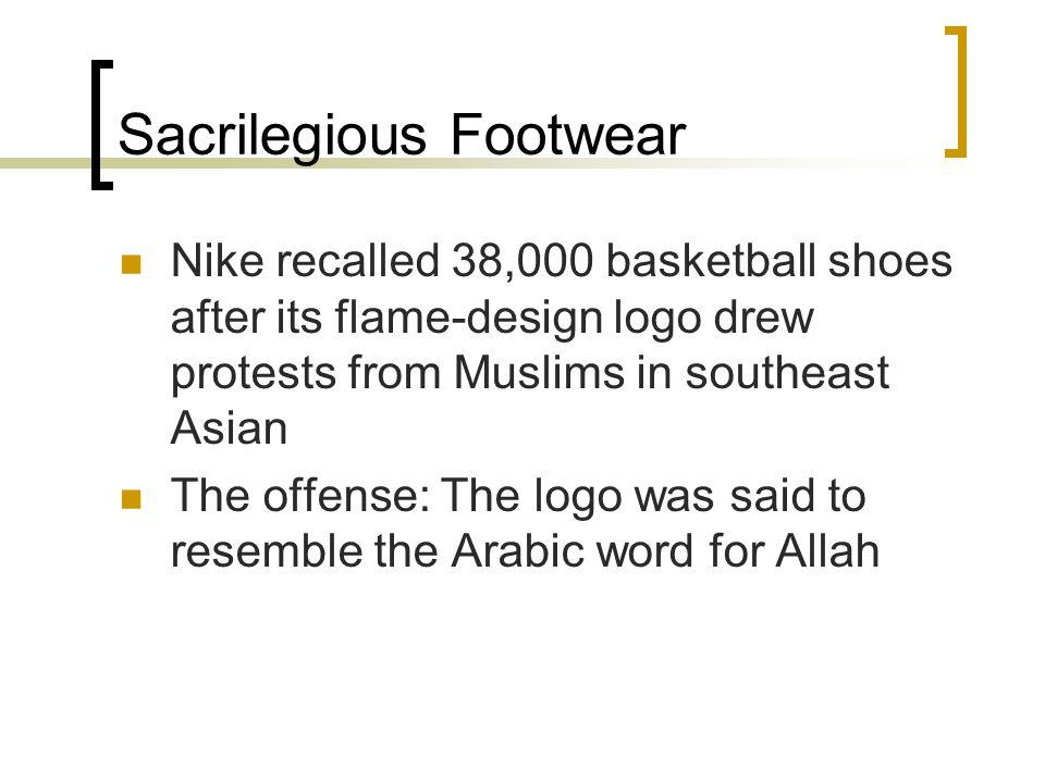 Sacrilegious Footwear