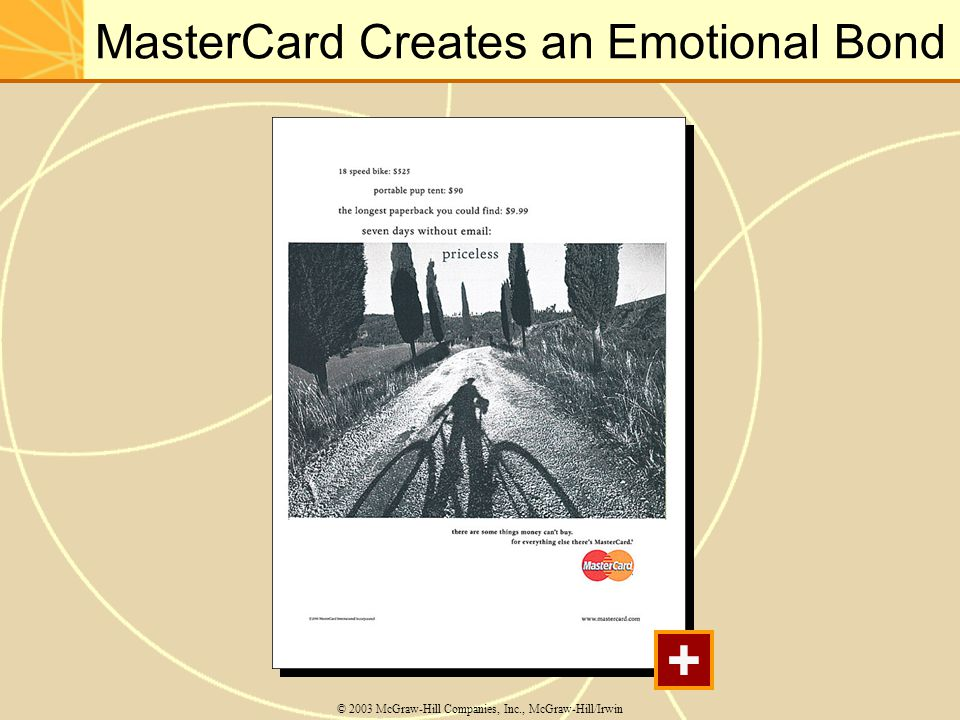 MasterCard Creates an Emotional Bond