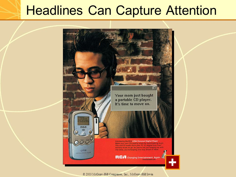 Headlines Can Capture Attention
