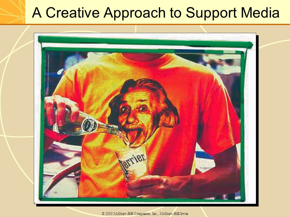 A Creative Approach to Support Media