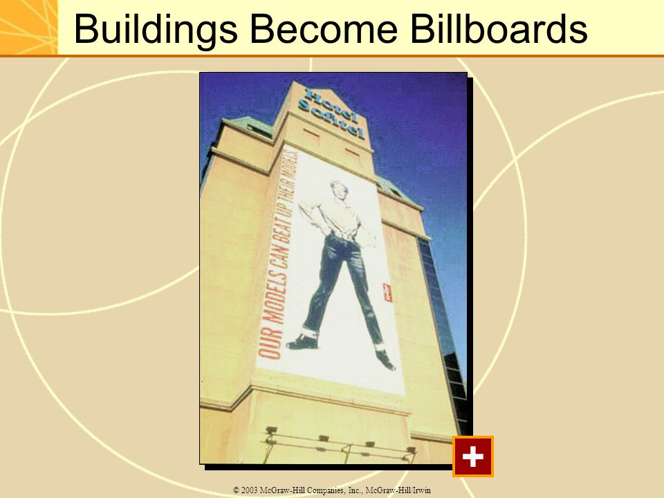 Buildings Become Billboards