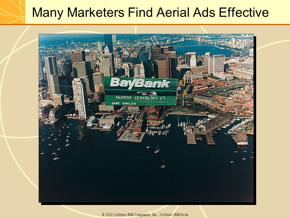 Many Marketers Find Aerial Ads Effective