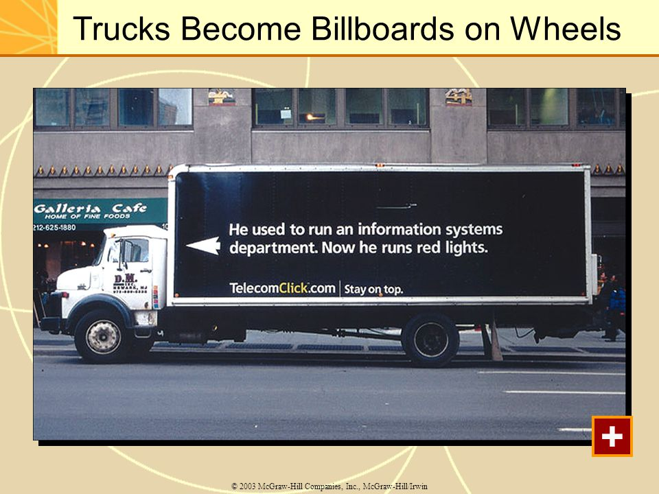 Trucks Become Billboards on Wheels