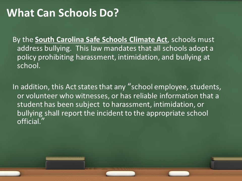 What Can Schools Do