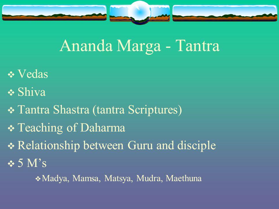 Ananda Marga - Tantra Vedas Shiva Tantra Shastra (tantra Scriptures)
