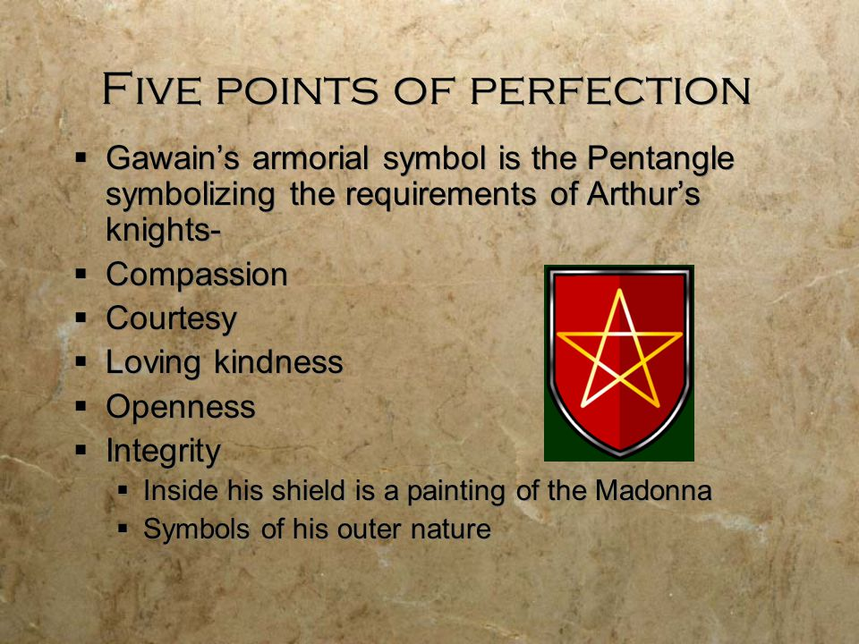 Five points of perfection