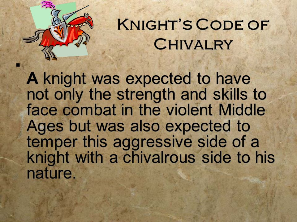 Knight's Code of Chivalry