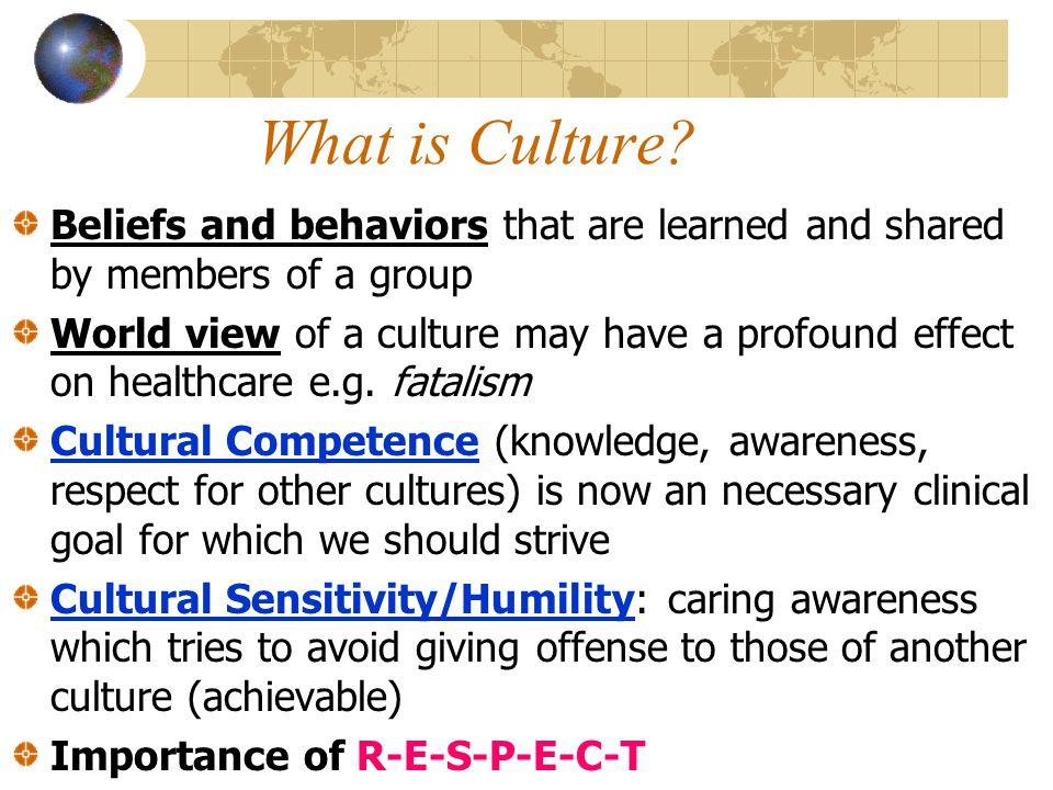 culture health beliefs How can the answer be improved.