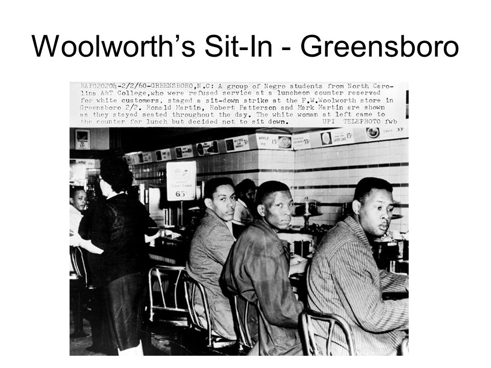 Woolworth's Sit-In - Greensboro
