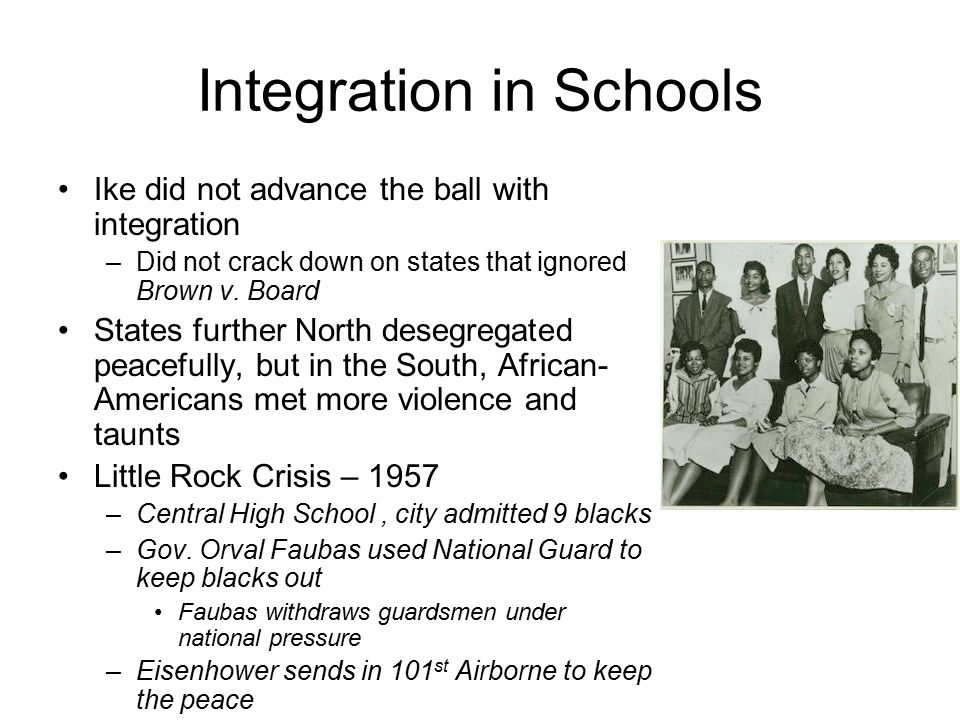 Integration in Schools