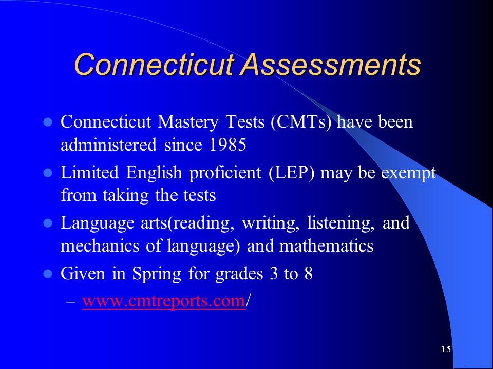 Connecticut Assessments