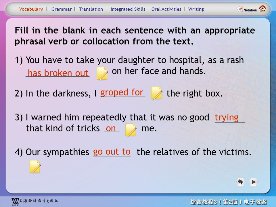 Consolidation Activities-Phrase practice 1