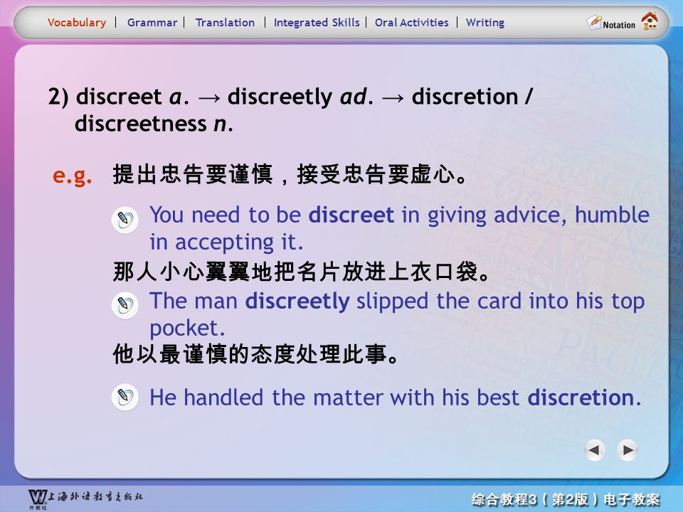 Consolidation Activities- Word derivation 1.2