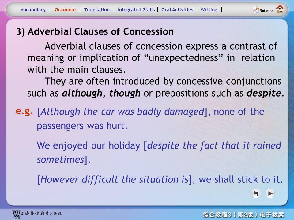 Consolidation Activities- Grammar3.1