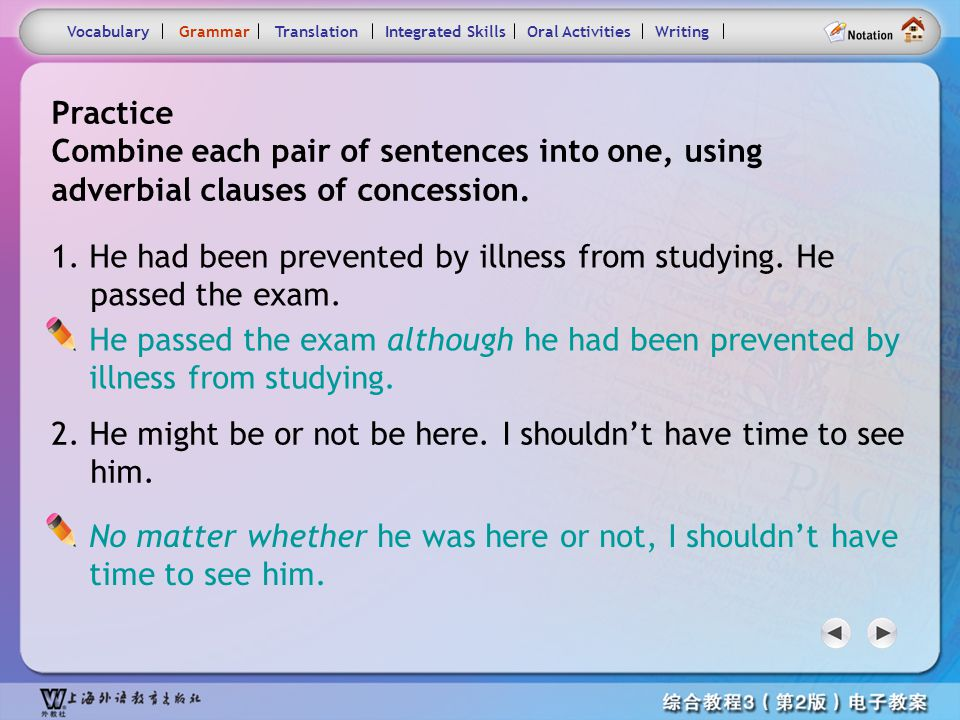 Consolidation Activities- Grammar3.2