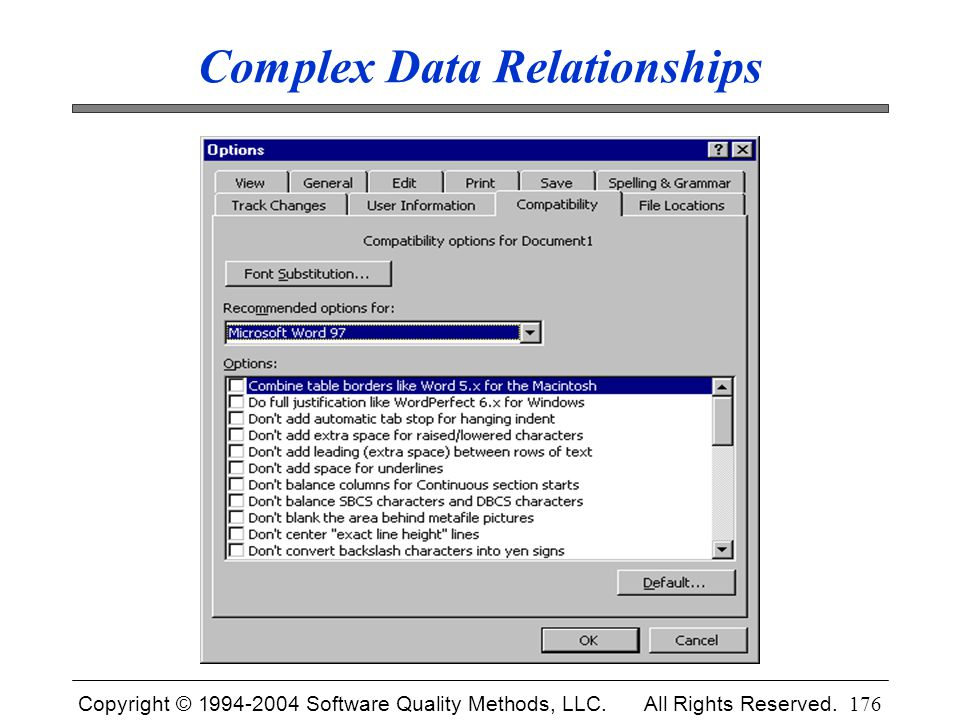 Complex Data Relationships