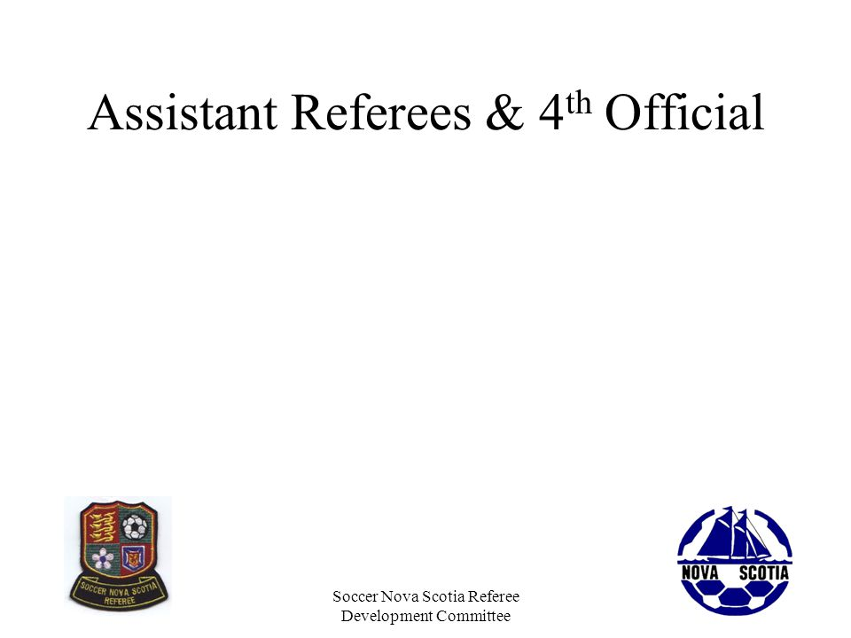 Assistant Referees & 4th Official