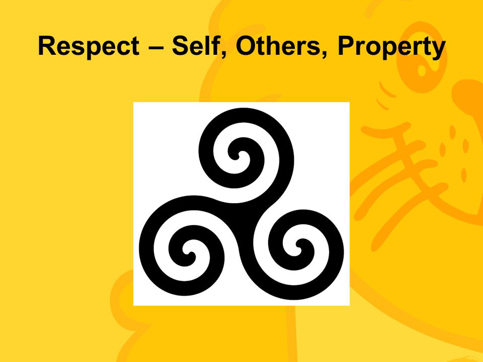Respect – Self, Others, Property