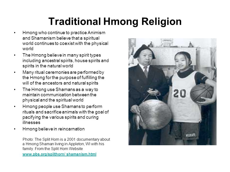 Traditional Hmong Religion