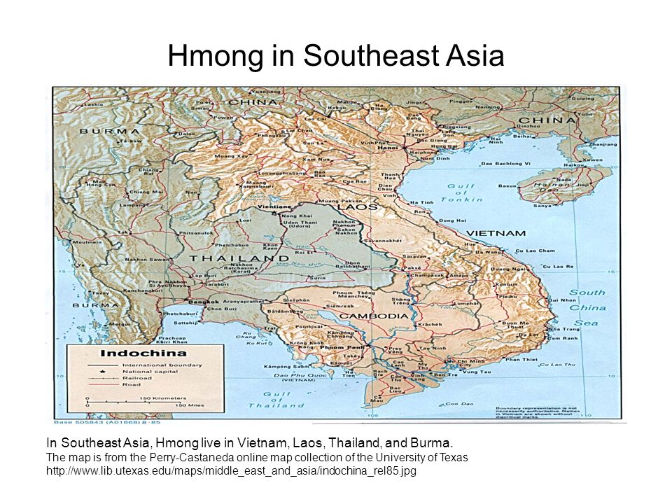 Hmong in Southeast Asia