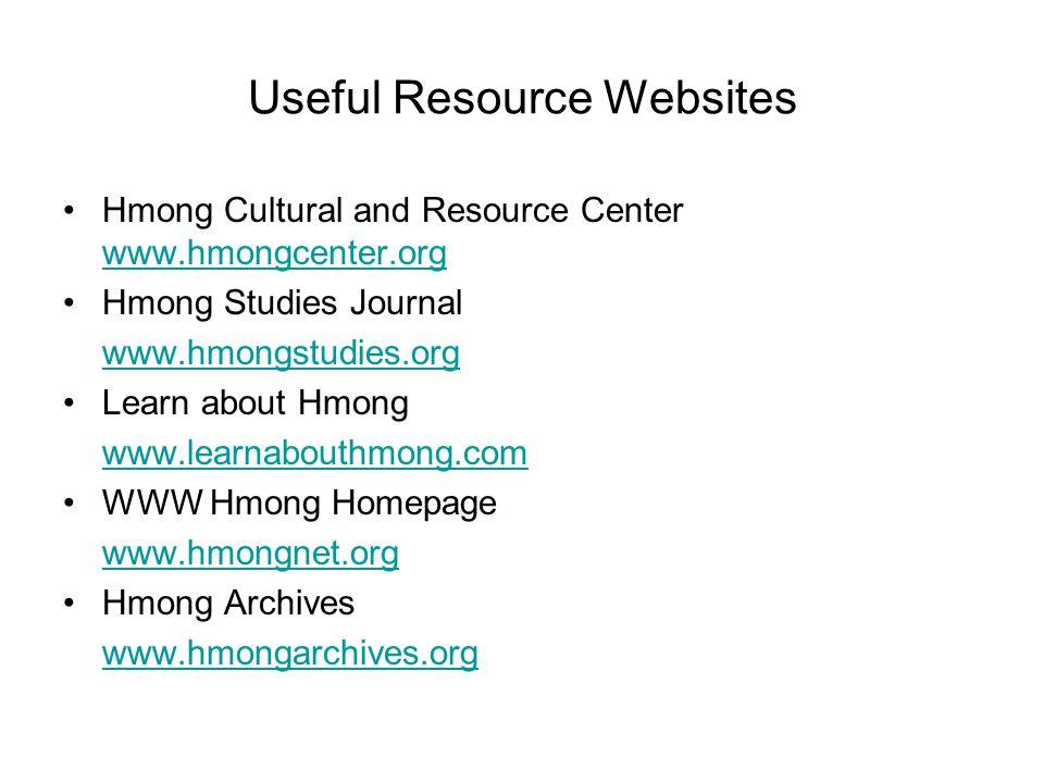 Useful Resource Websites