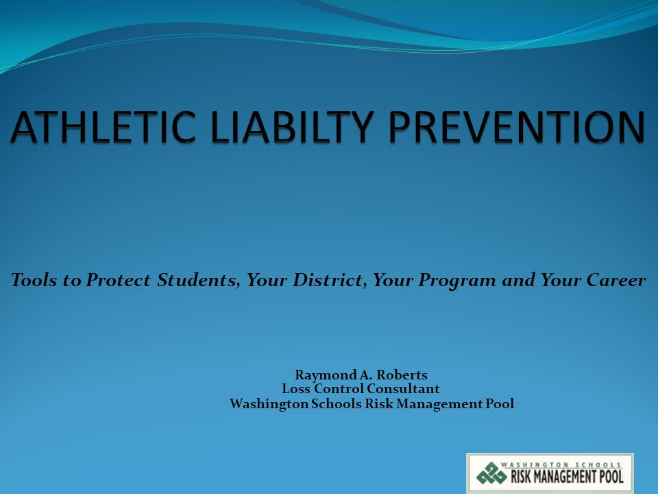 ATHLETIC LIABILTY PREVENTION