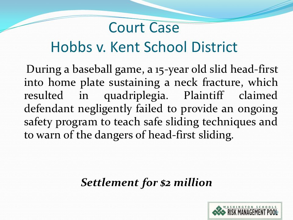 Court Case Hobbs v. Kent School District