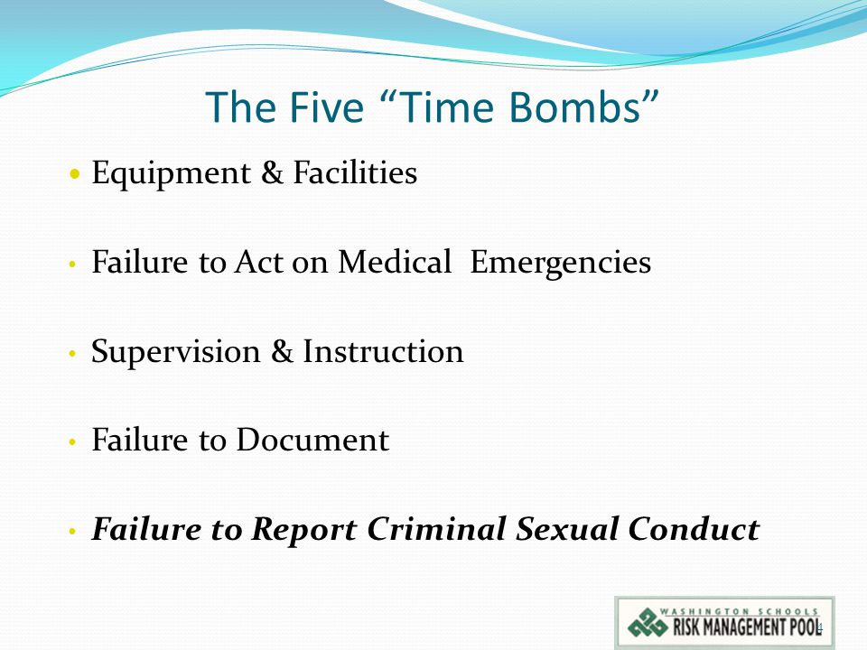 The Five Time Bombs Equipment & Facilities