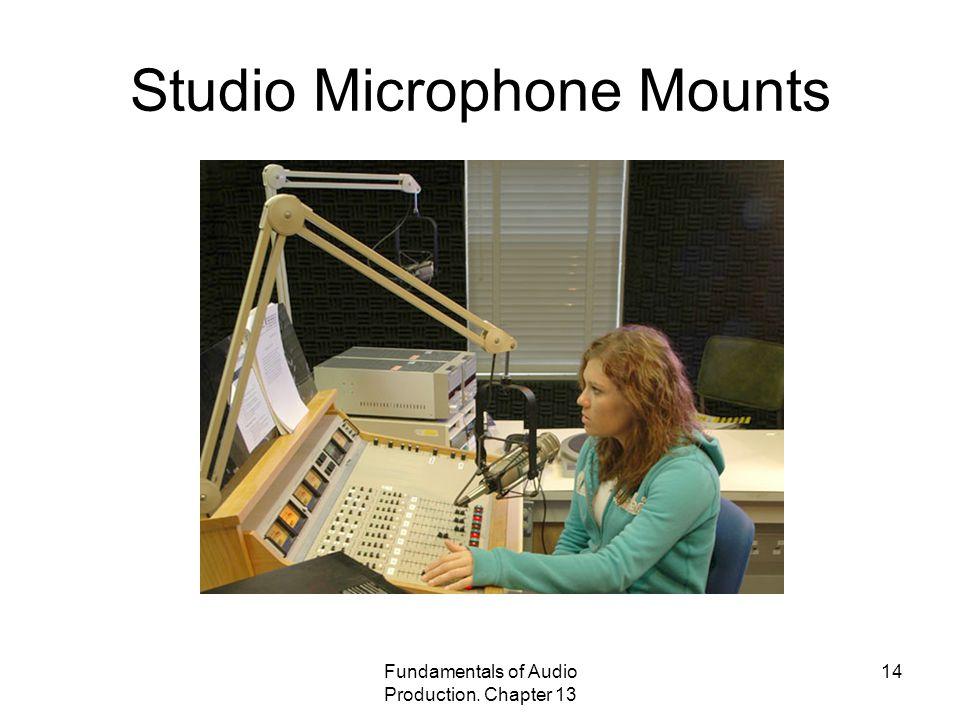 Studio Microphone Mounts