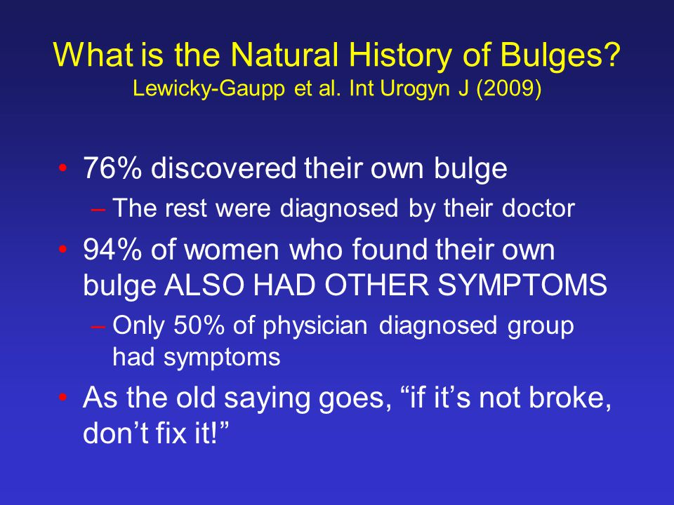 What is the Natural History of Bulges. Lewicky-Gaupp et al