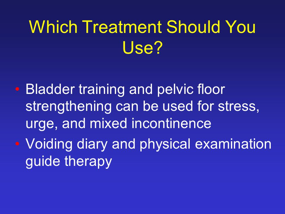 Which Treatment Should You Use