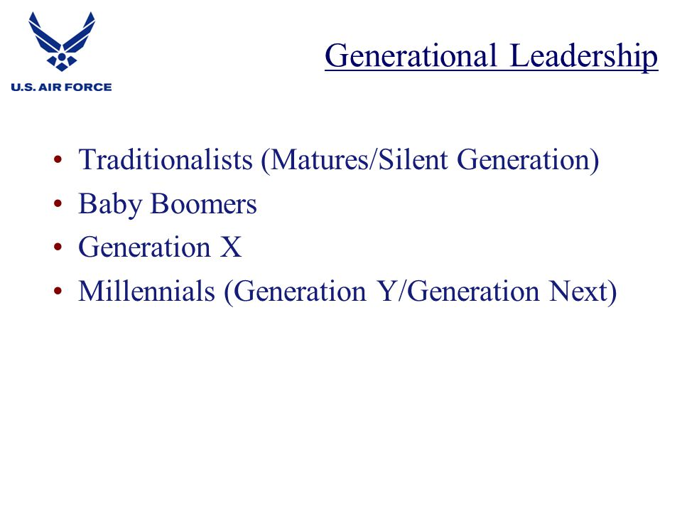 generational leadership Drinon's leadership express facing the challenges of diversity & generational differences rich drinon,  generational influence is.