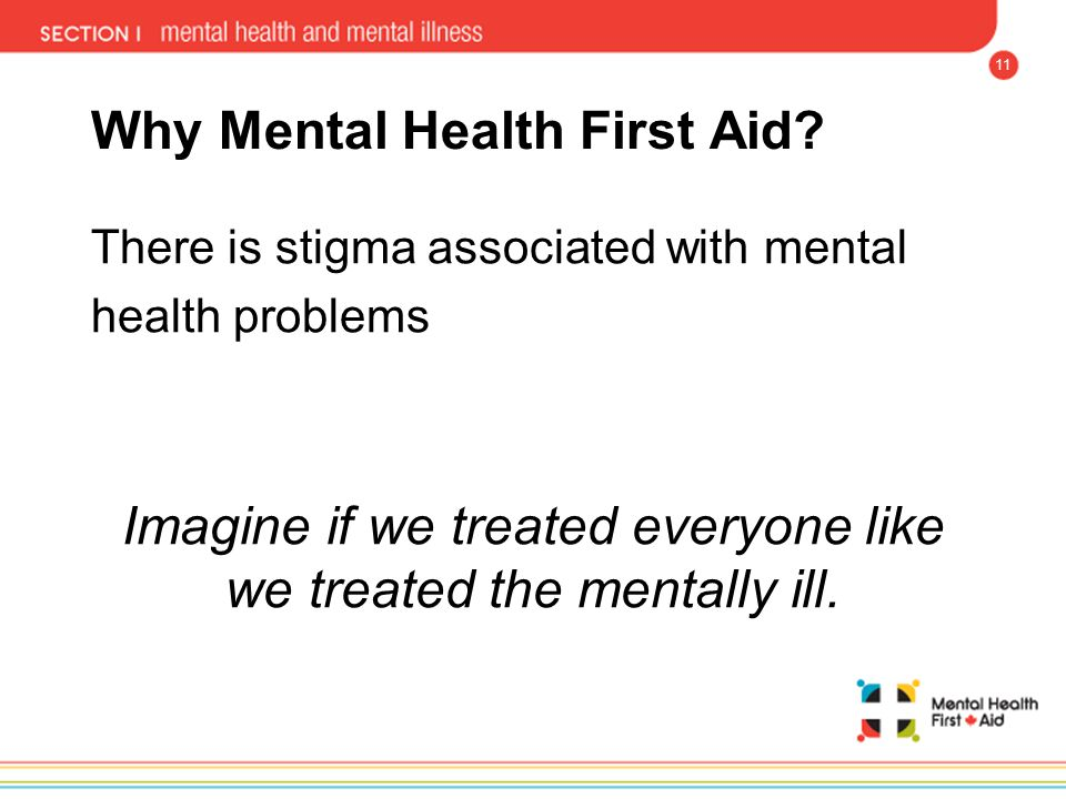 Why Mental Health First Aid