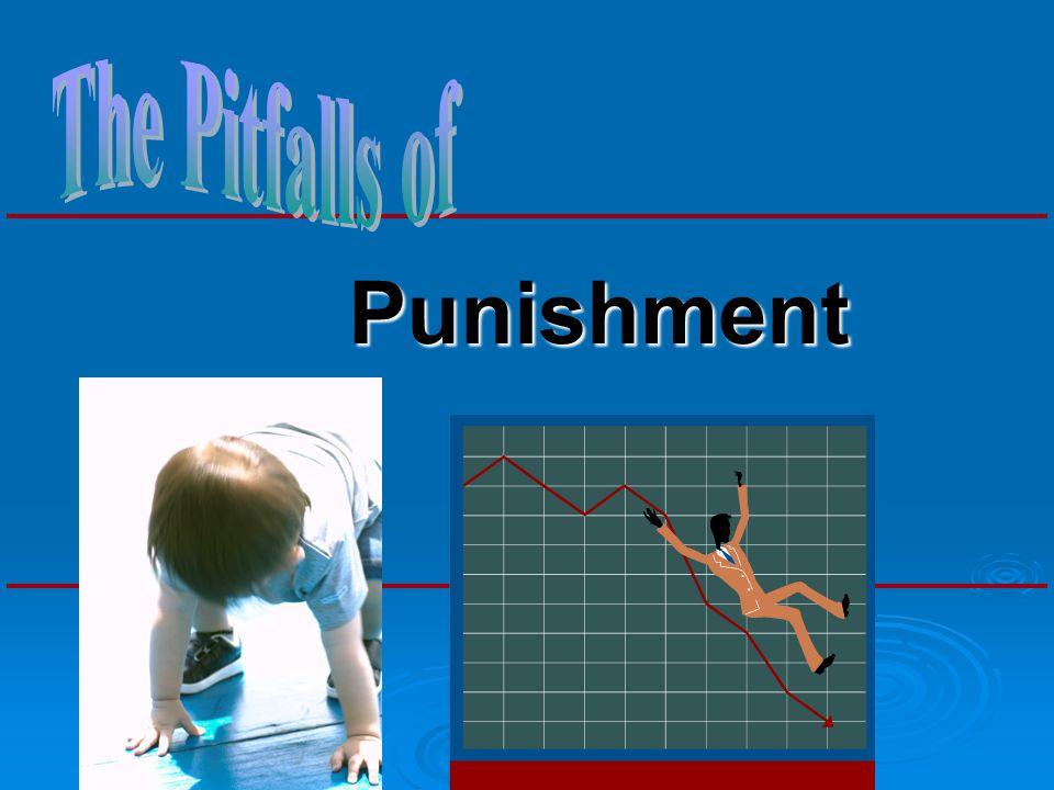 The Pitfalls of Punishment