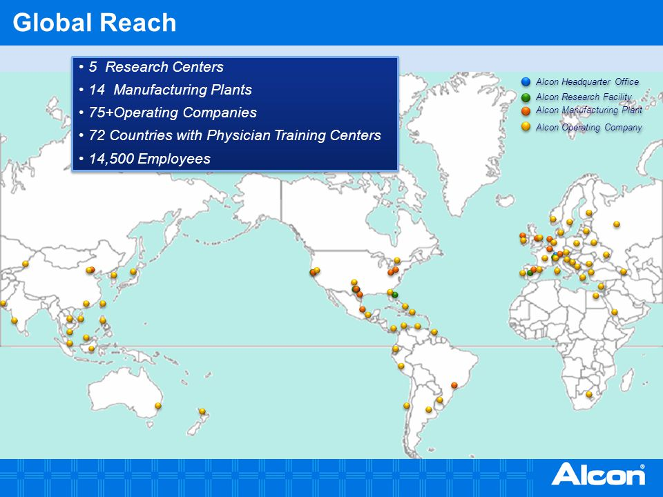 Global Reach Describe the operations