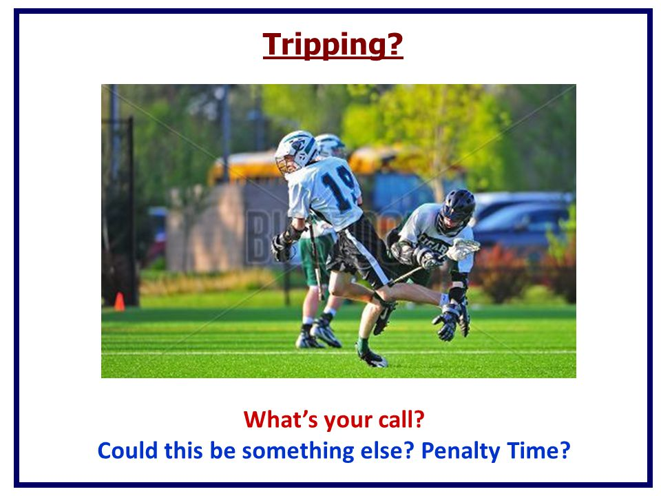 Could this be something else Penalty Time