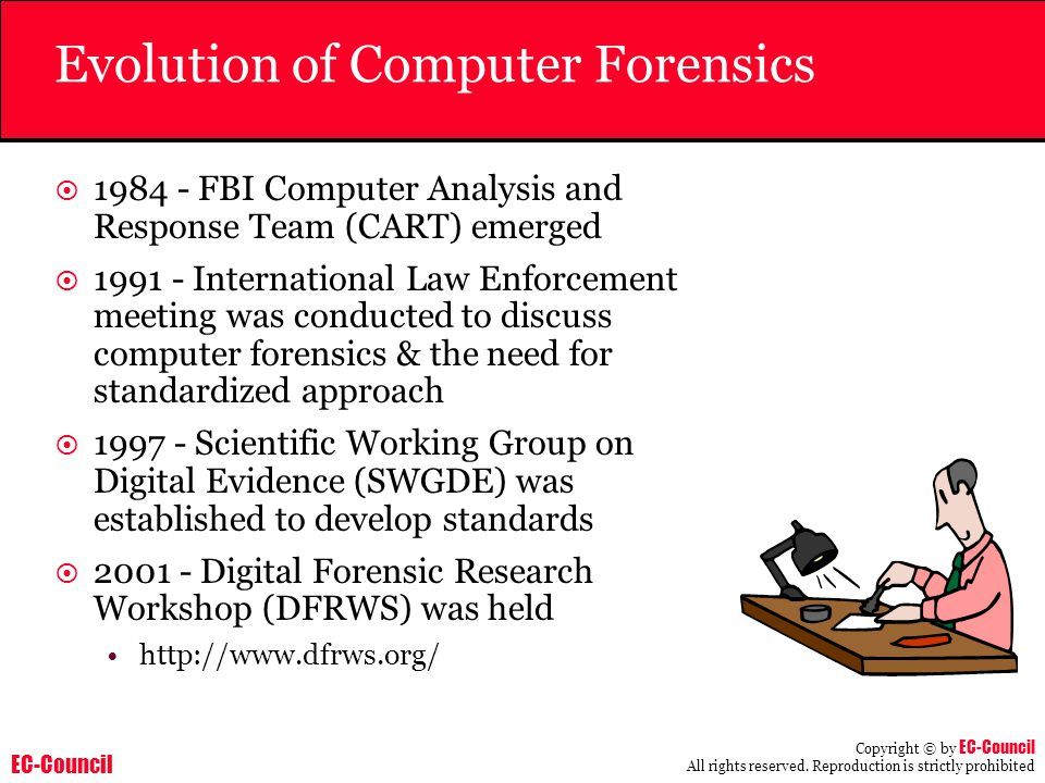Evolution of Computer Forensics