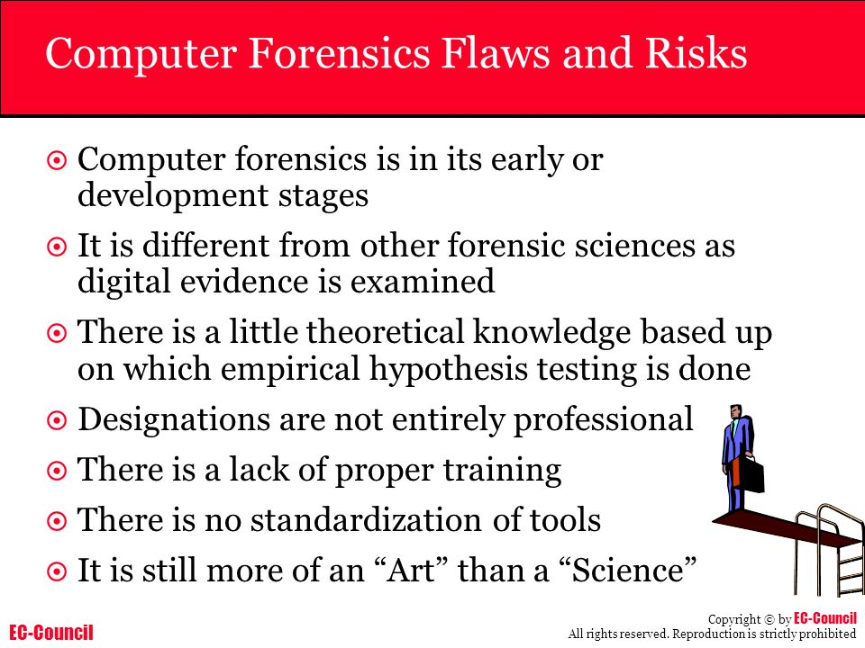 Computer Forensics Flaws and Risks