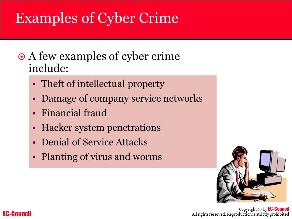 Examples of Cyber Crime