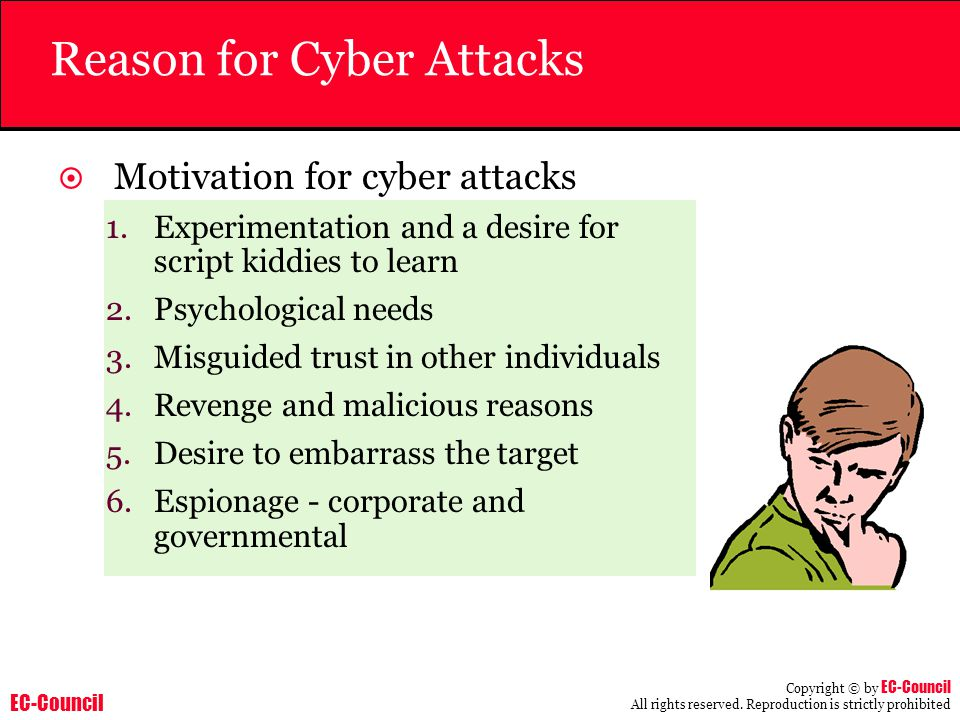 Reason for Cyber Attacks