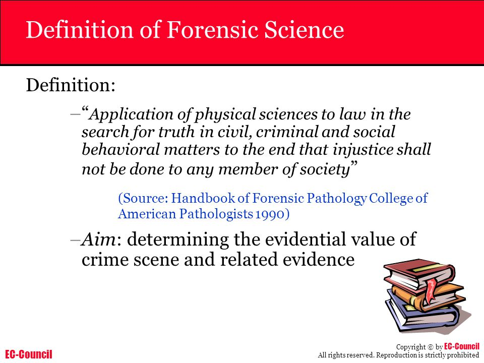 Definition of Forensic Science