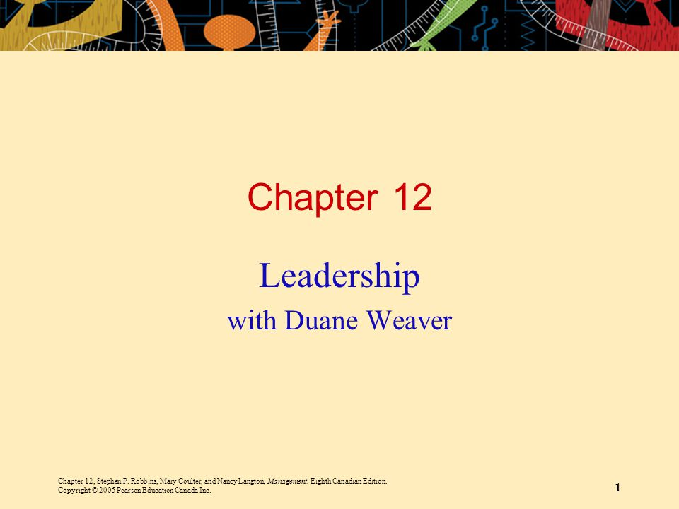 Leadership with Duane Weaver