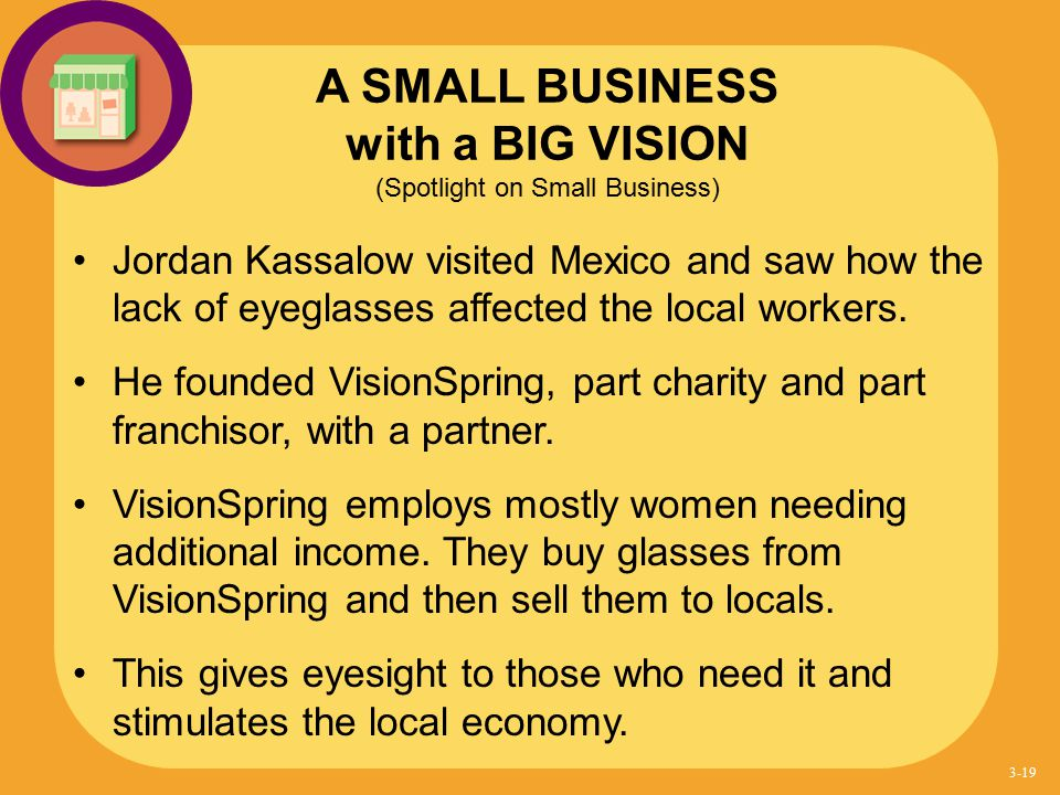 A SMALL BUSINESS with a BIG VISION (Spotlight on Small Business)