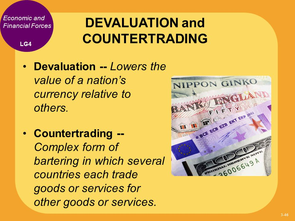 DEVALUATION and COUNTERTRADING